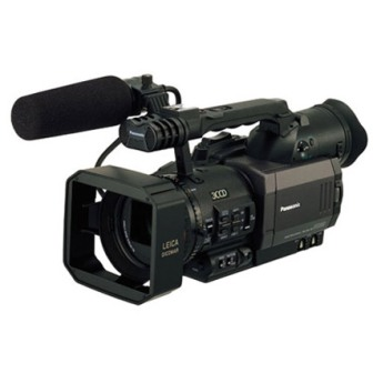 Panasonic professional video camera