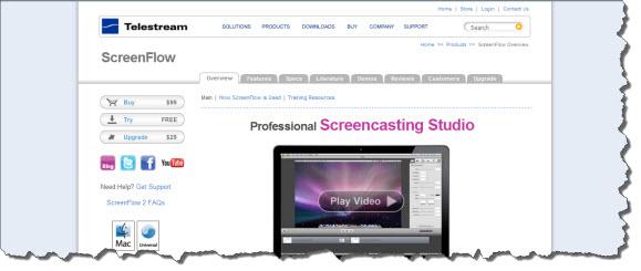 Screencasting Software Sites