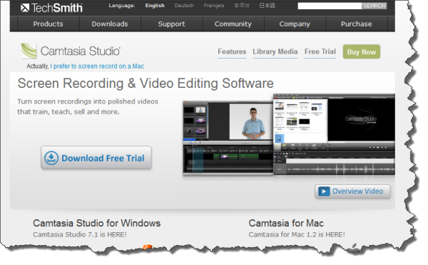 Camtasia Studio-Win