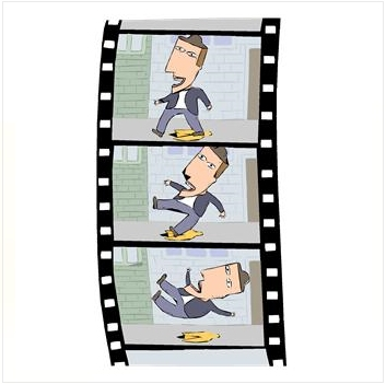 filmstrip, cartoon