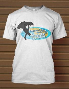 Beach-Skateboard-T-Shirt